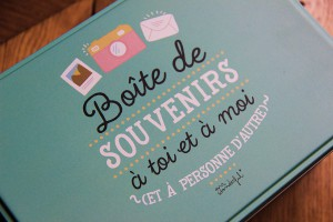 Boite souvenirs en vente sur Mathuvu.fr