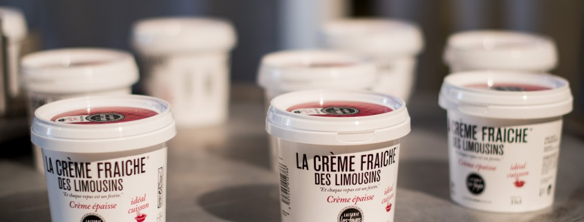 Crème fraiche des Limousins : par la laiterie les fayes