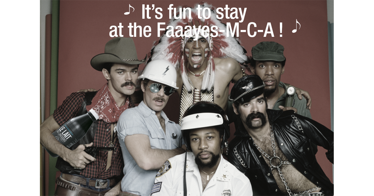 It's fun to stay at the Fayes-m-c-a !