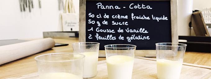 recette panna cotta La Vie Chantilly Laiterie Les Fayes