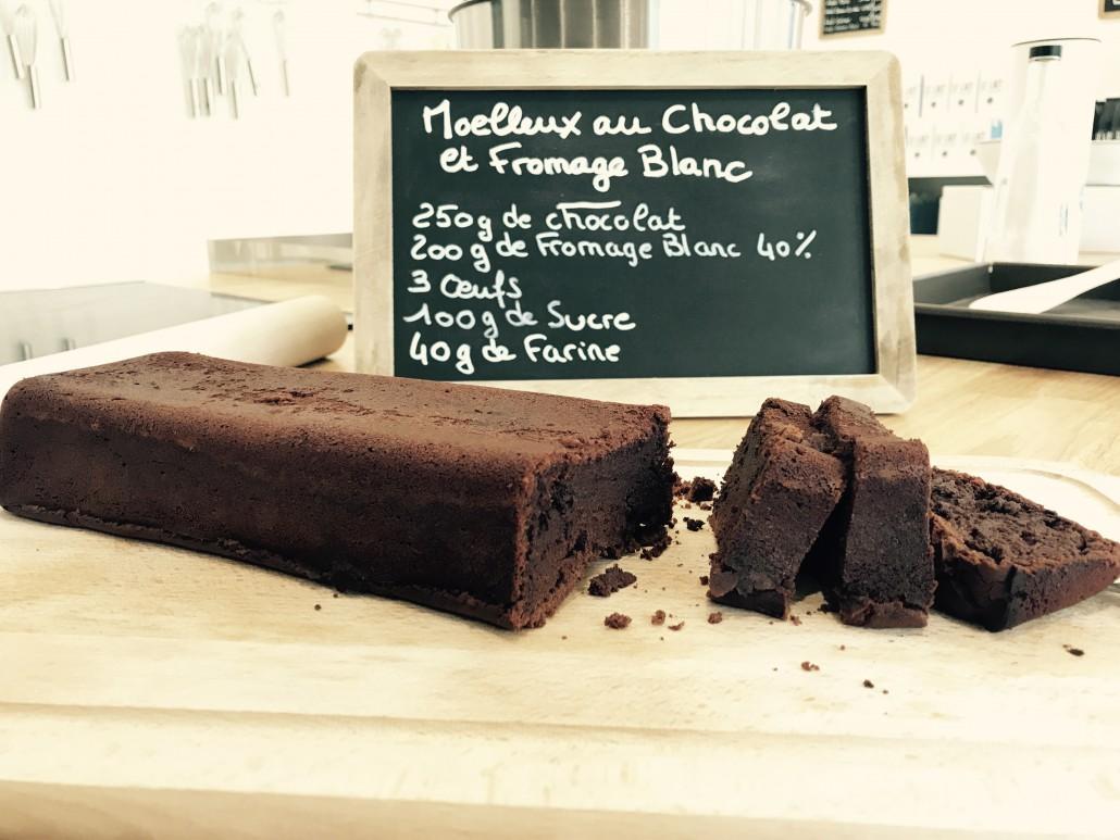 recette gâteau chocolat au fromage blanc des Limousins