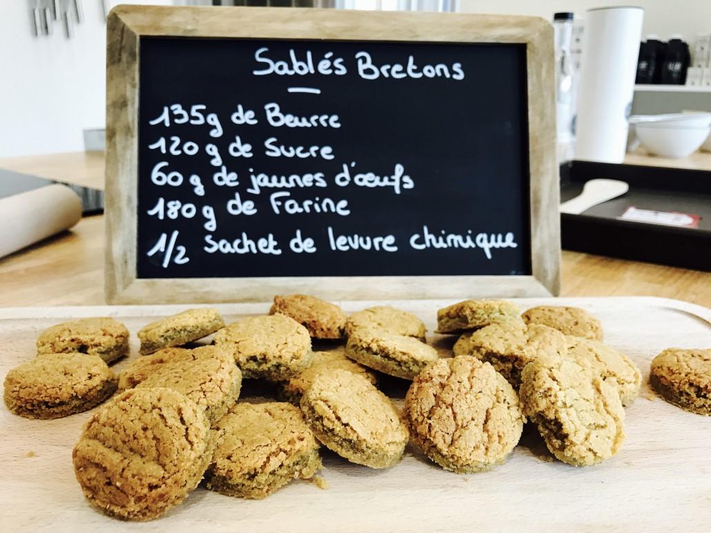 recette sablés bretons au beurre laiterie les fayes