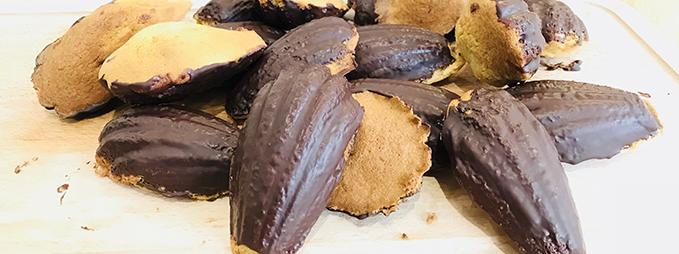 Recette madeleines au chocolat Laiterie Les Fayes