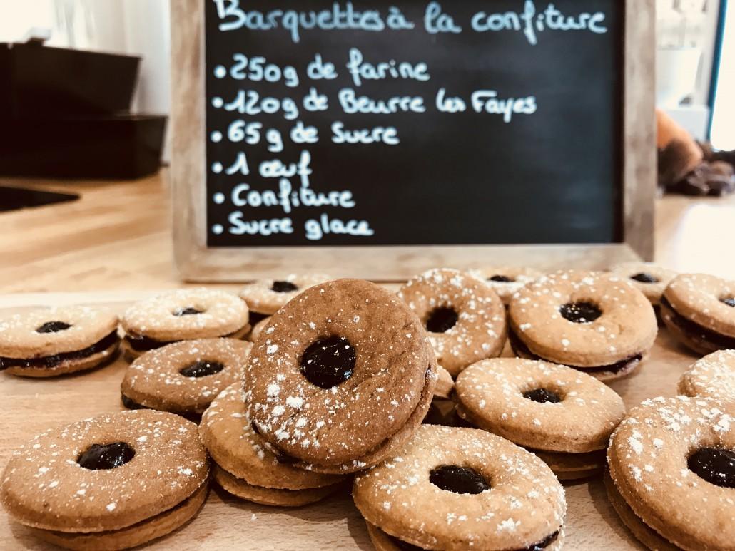 Recette de biscuits à la confiture du Limousin